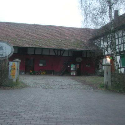 Der Schultheissenhof zu Beginn der Schloßstraße